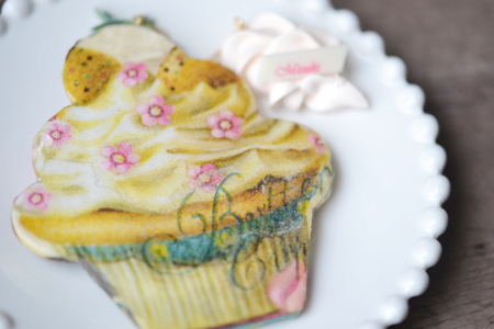デコナップカップケーキ