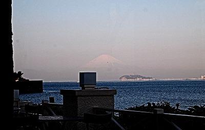 富士山ぼんやり