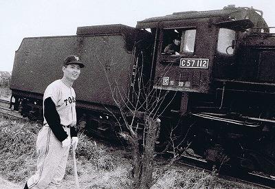王さんと機関車