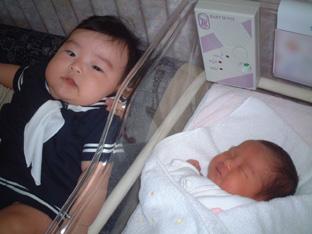 ハルちゃんと赤ちゃん