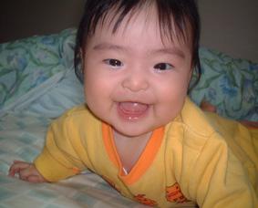 とびきりの笑顔