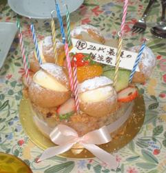 誕生祭ケーキ