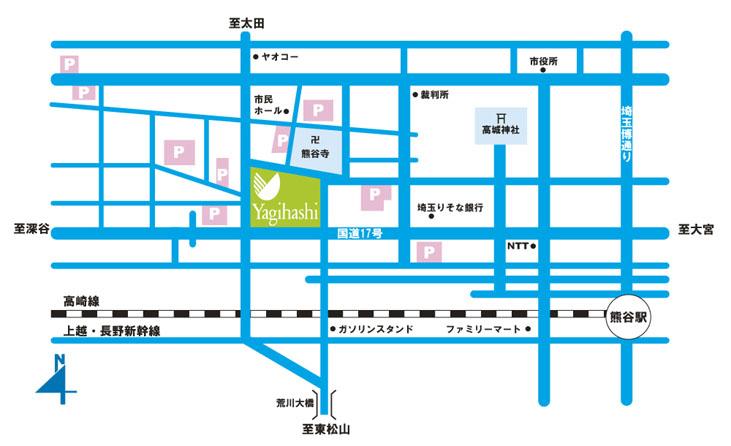 八木橋-地図