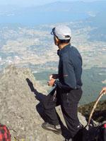 開聞岳眺めリーダー