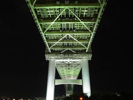 レインボーブリッジ夜景