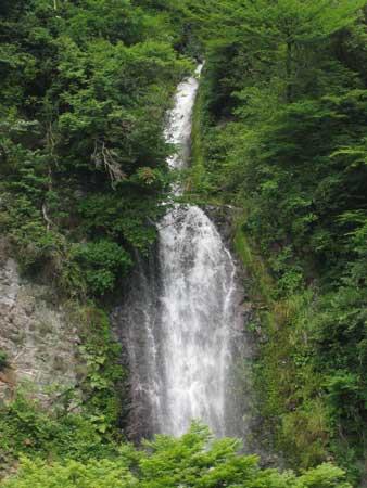 杵島岳 金龍の滝