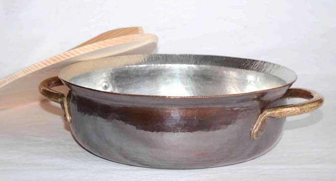 4140両手鍋木蓋