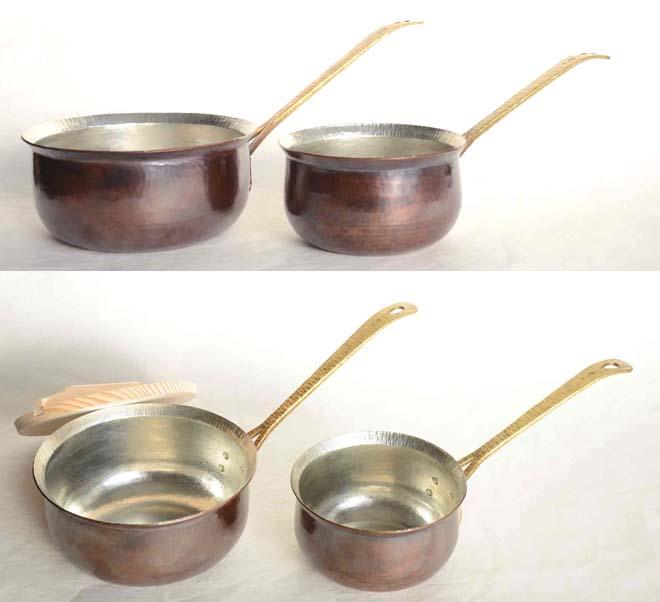 片手鍋真鍮手3996,3962