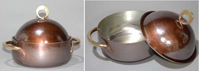 4413両手鍋銅蓋