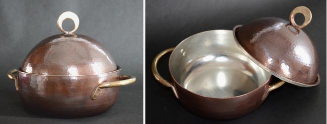 4420両手鍋銅蓋