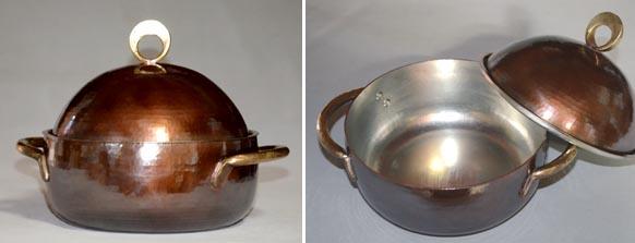 4449両手鍋銅蓋基本形