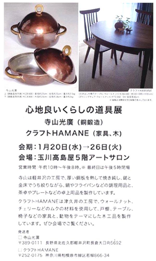 2016.1.20.玉川高島屋DM
