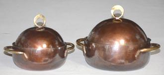 両手鍋基本形大小