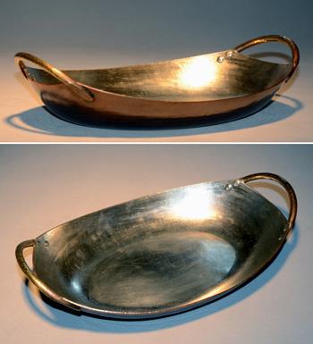 4531両手鍋 舟形