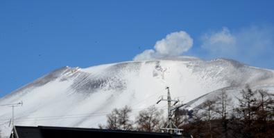 170126浅間山