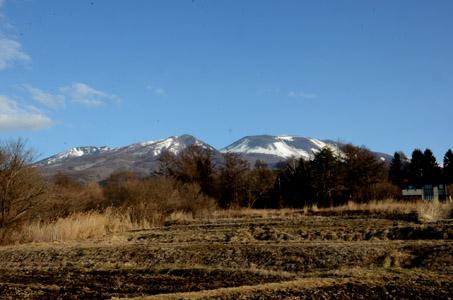 御代田の浅間山