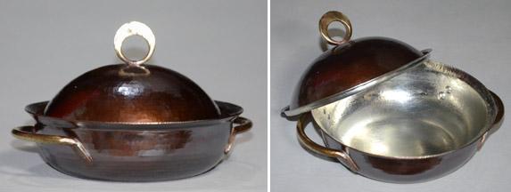 4773両手鍋丸縁銅蓋
