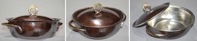 4793両手鍋丸縁銅蓋