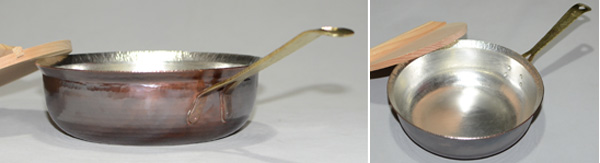 4826片手鍋真鍮手