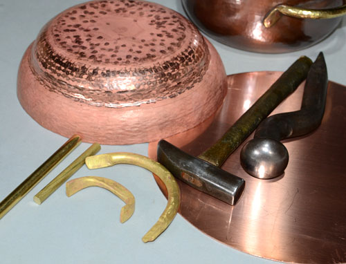 両手鍋制作道具