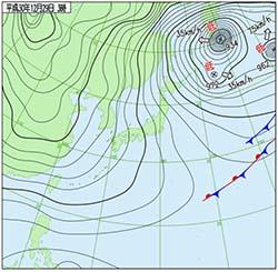 2018122903時天気図
