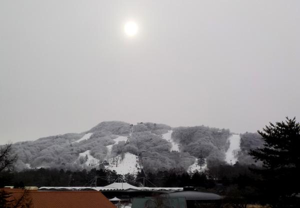 軽井沢のスキー場
