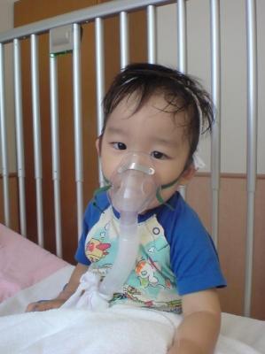 海星 1歳11ヶ月 喘息発作で入院 | 自家製天然酵母 de パン