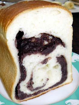 小豆食パン