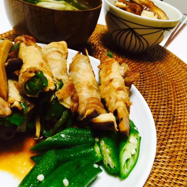 椎茸混ぜ込み炊き込みご飯の素