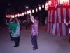 地域子ども会の盆踊りに参加