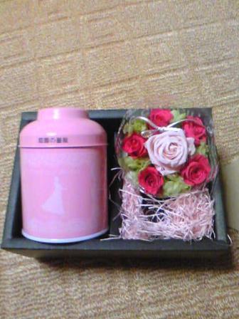 お花と紅茶