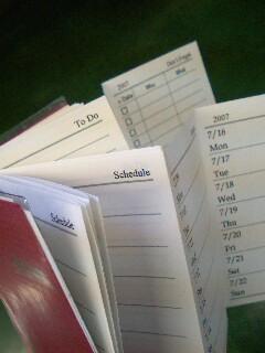 A7ジャバラ手帳