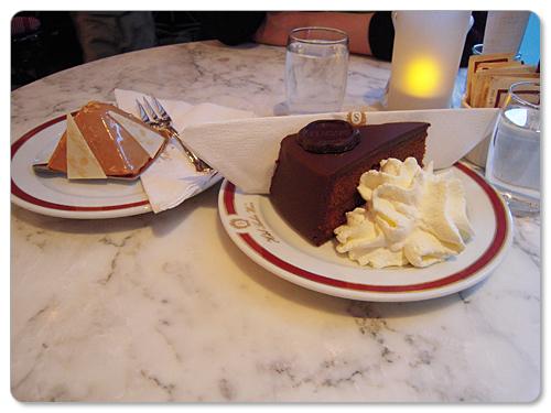 ザッハー・トルテ&ケーキ