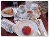 苺タルト&林檎タルト&紅茶