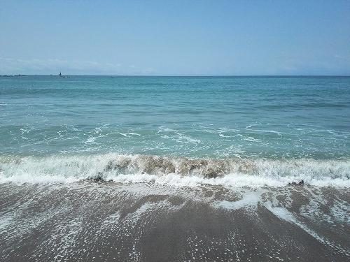 綺麗な海です