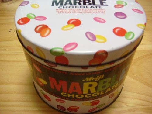 マーブル缶