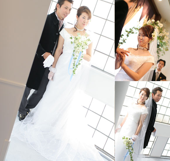 ウェディングドレス 札幌の花嫁
