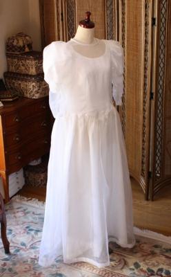 お母様のウェディングドレス