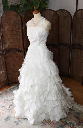 ウェディングドレス 2wayドレス