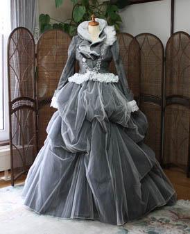 カラードレス 2wayドレス