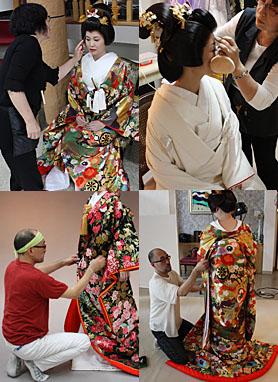 和装 婚礼写真 札幌の衣裳店 メタモールフォーゼ