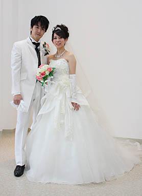 ウェディングドレス 撮影 前撮り 札幌
