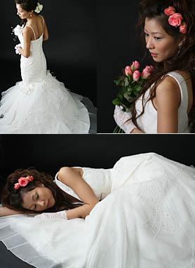 婚礼写真 モード系撮影 札幌