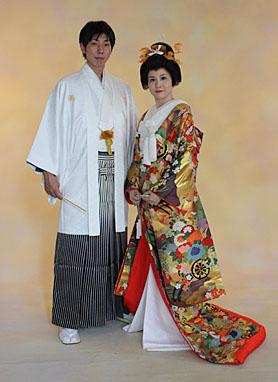 色打掛 婚礼写真 札幌