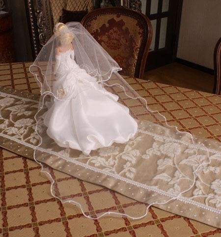 ミニチュア ウェディングドレス 制作