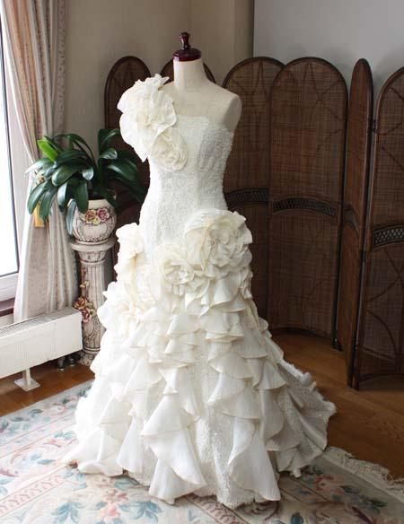 ウェディングドレス マーメイドドレス