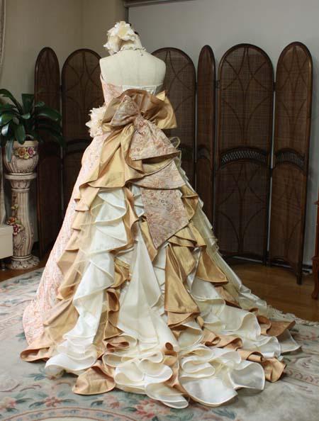 着物 ウェディングドレス
