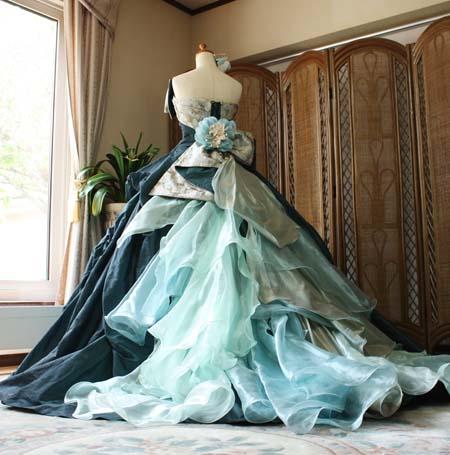 和装 ウェディグドレス カラー