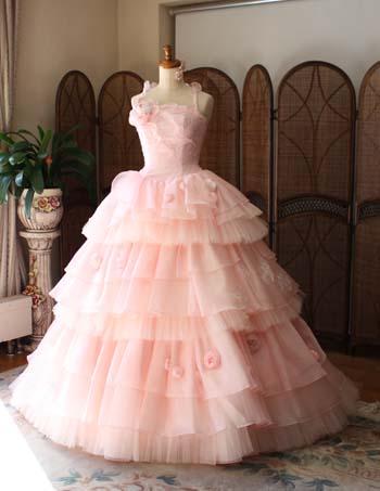 結婚式 お色直しカラードレス オーダー