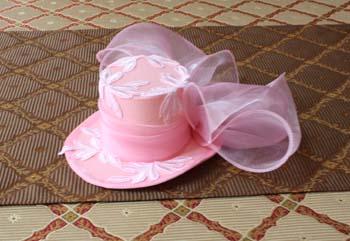 ヘッドドレス 帽子を制作